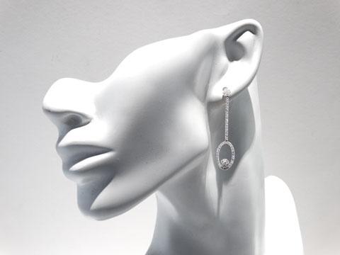 18ct Drop Earrings
