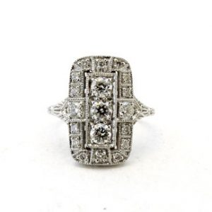 Art Deco Style Ring