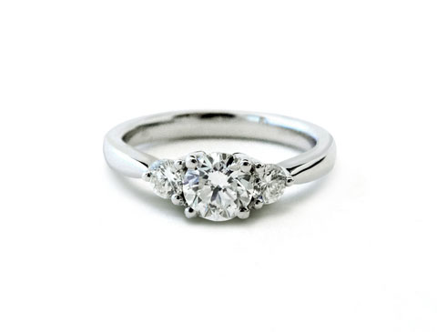 18ct White Gold 3 Stone Diam Ring