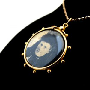 Yellow Gold Photo Locket