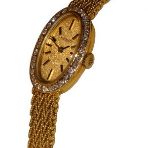 Ladies Diamond set Tissot