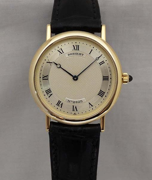 Breguet 18ct gold watch Ref:3390