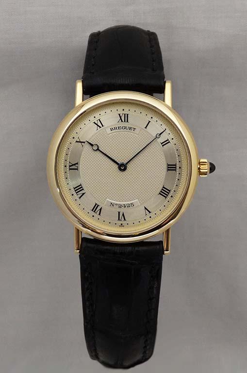 Breguet 18ct gold watch Ref:3390