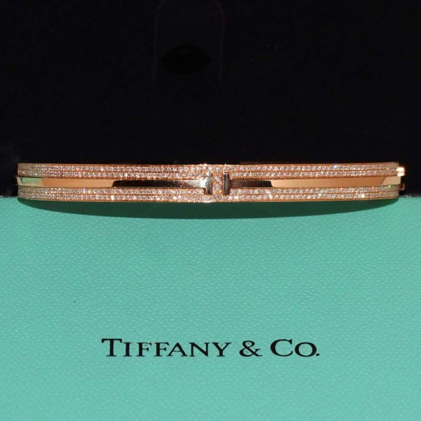 Tiffany T Diamond Bangle