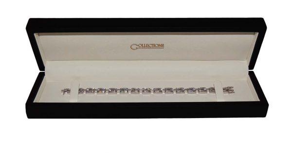 Grain Set Diamond Bracelet
