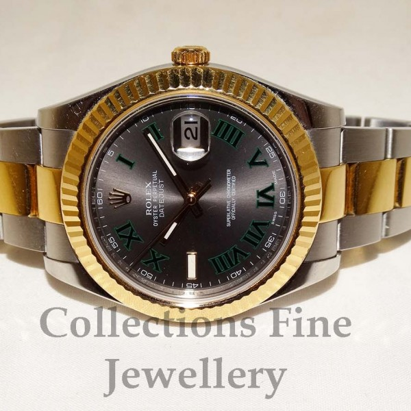 Rolex DateJust II Two Tone
