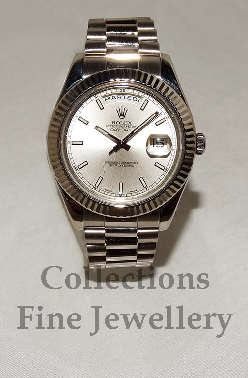 Rolex Day Date 18ct White Gold