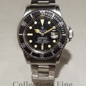 Rolex Submariner Tiffany Dial - Rare