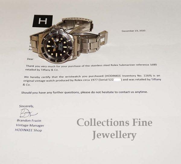 Rolex Submariner Tiffany Dial - Rare