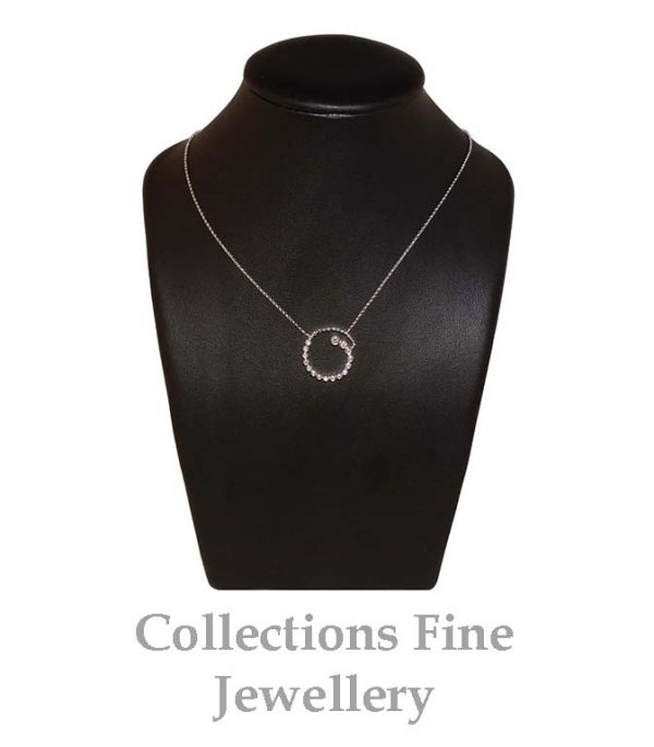 Curl Diamond Necklace