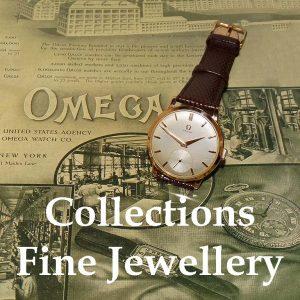 Vintage 9ct Omega